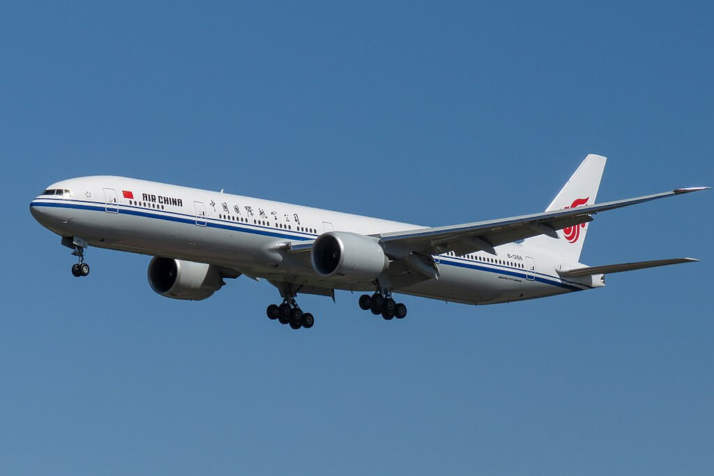 Air China Fleet Boeing 777-300ER Details and Pictures