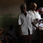 Congolese doctors in a women's health center in the DRC.