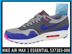 NIKE AIR MAX 1 ESSENTIAL 537383-006 w kolorze ( szare, ultramaryna, niebieskie )- cena 379,99 zł z wysyłką gratis - sklep 2