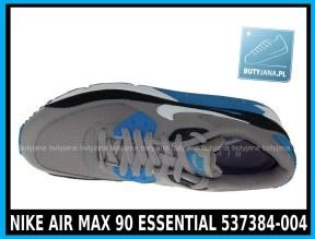 NIKE AIR MAX 90 ESSENTIAL 537384-004 szare,czarne, niebieskie w cena 380 zł, przesyłka gratis 3
