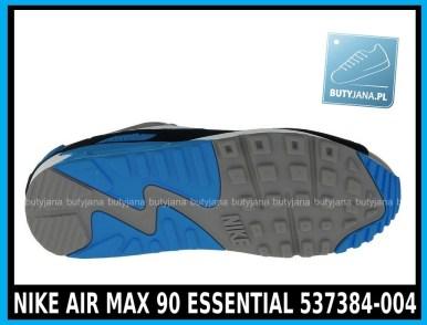 NIKE AIR MAX 90 ESSENTIAL 537384-004 szare,czarne, niebieskie w cena 380 zł, przesyłka gratis 4