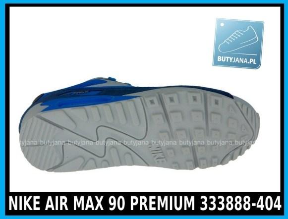 Niebieskie NIKE AIR MAX 90 PREMIUM 333888-404 3
