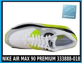 NIKE AIR MAX 90 PREMIUM 333888-018 w kolorze WHITE - GREY - YELLOW (szare, białe, żółte) w cenie 389-99 zł 2