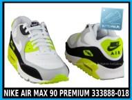 NIKE AIR MAX 90 PREMIUM 333888-018 w kolorze WHITE - GREY - YELLOW (szare, białe, żółte) w cenie 389-99 zł 4