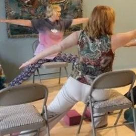 Chair Yoga, Senior Yoga