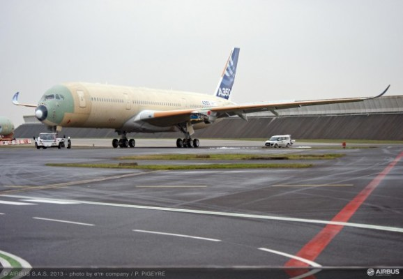 Airbus A350 Outdoor Testing