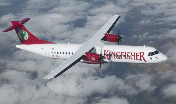 Kingfisher Airlines ATR Turboprop