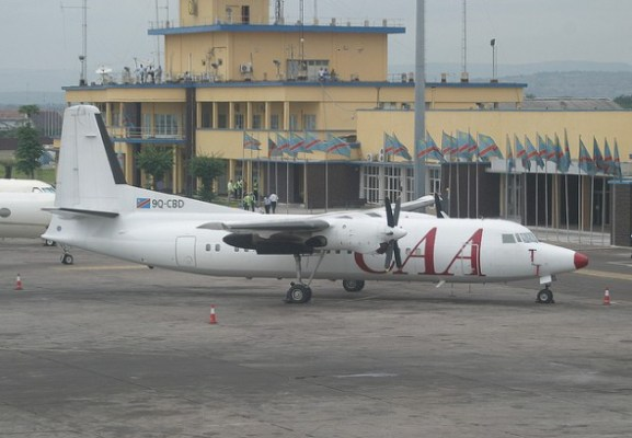 Compagnie Africaine d'Aviation (CAA) Fokker 50