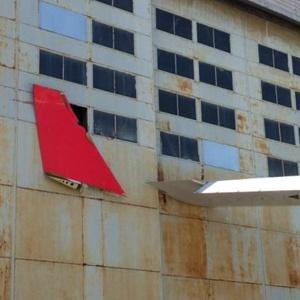 TAM A330 Winglet on Hangar Building