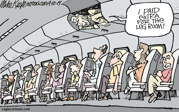 Seat Reservation Cartoon