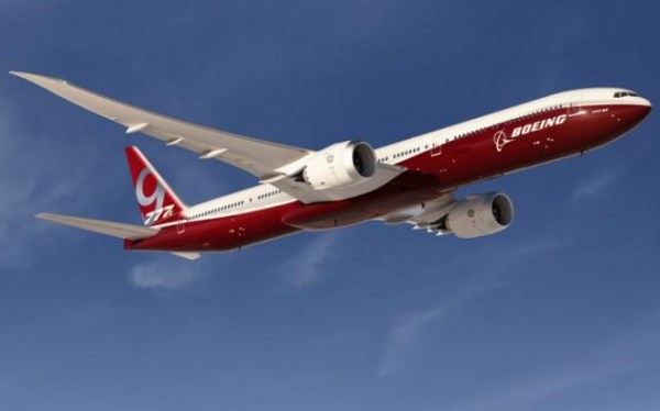 Boeing 777X Red