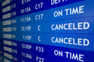 Flights cancelled in the Northeast due to huge storm