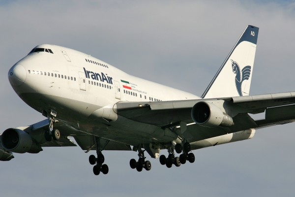 Iran Air Boeing 747 SP-86