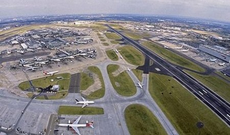 London'a Heathrow Airport