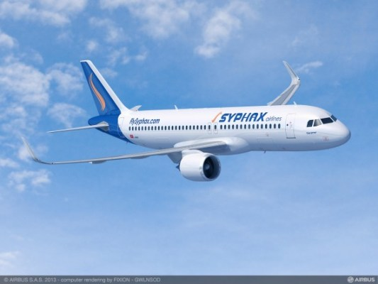 Syphax Airlines Airbus A320