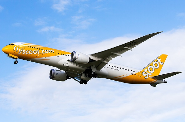 Scoot Boeing 787-9-Dreamliner