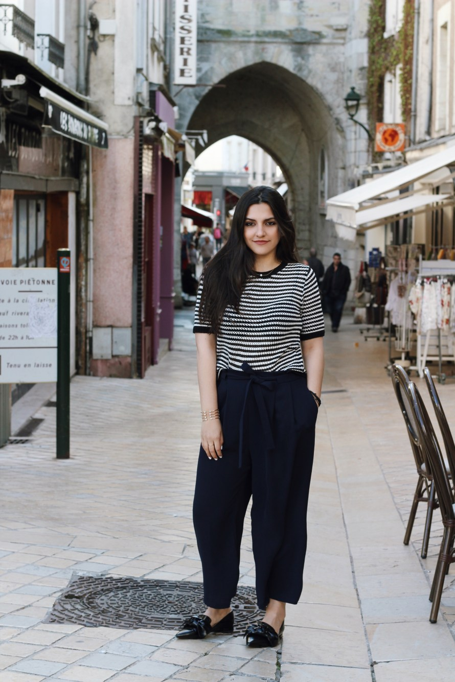 Stripes blogger in amboise