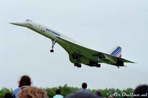 F-BVFA Concorde Air France La Ferte Alais (1986)