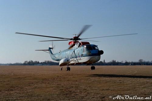 PH-NZF Sikorsky S-61N KLM Helikopters op Hilversum (1985)