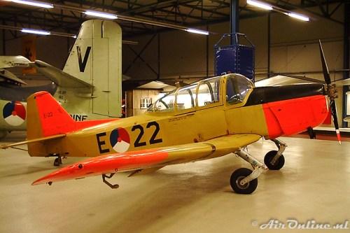 E-22 Fokker S-11 in oktober 2001 nog in het museum