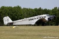 HB-HOY Junkers Flugzeugbau JU-52/3m g4e, La Ferte Alais (F) mei 2010
