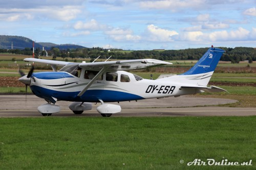 OY-ESR Cessna T206H Turbo Stationair