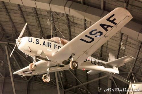 USAF8928 LD-928 Ryan Navion L-17A/U-18A C/N 47-1347 USAF Museum Wright Patterson AFB USA (25 juli 2011)