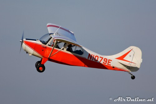 N1079E Aeronca 7AC Champion (Lelystad, 22 oktober 2011)