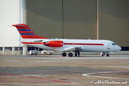 PH-KBX Fokker 70, Schiphol 1996