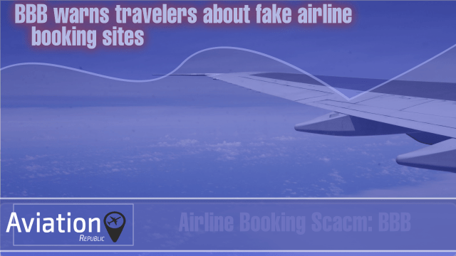 BBB warns travelers about fake airline booking sites
