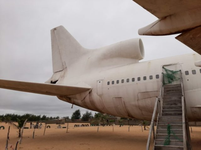 exploring an abandoned l1011 tristar on a beach in west africa 2 Airplane GEEK Exploring an Abandoned L1011 TriStar on a Beach in West Africa