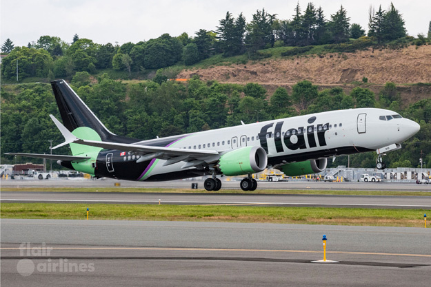 flair airlines introduces a new livery with its new max 8s 1 Airplane GEEK Flair Airlines introduces a new livery with its new MAX 8s