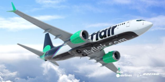 flair airlines introduces a new livery with its new max 8s 4 Airplane GEEK Flair Airlines introduces a new livery with its new MAX 8s