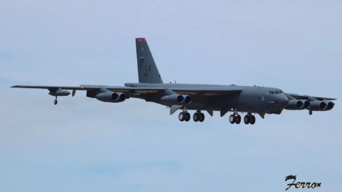 four u s b 52 bombers have just landed in spain for a bomber task force deployment Airplane GEEK Four U.S. B-52 Bombers Have Just Landed In Spain For A Bomber Task Force Deployment