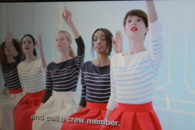 """Air France """"Chic"""" Safety Video"""