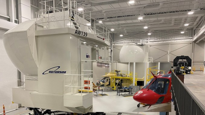 leonardo inaugurates a new state of the art helicopter training academy in the united states Airplane GEEK Leonardo Inaugurates A New State-Of-The-Art Helicopter Training Academy In The United States