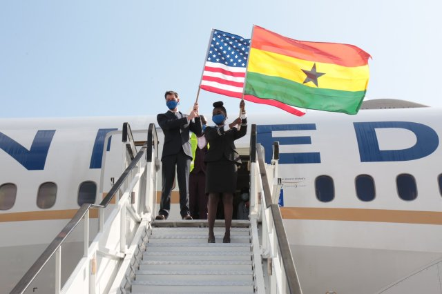 United Airlines to Add More Than 400 Daily Flights in July and inaugurates Nonstop flights between Washington and Ghana