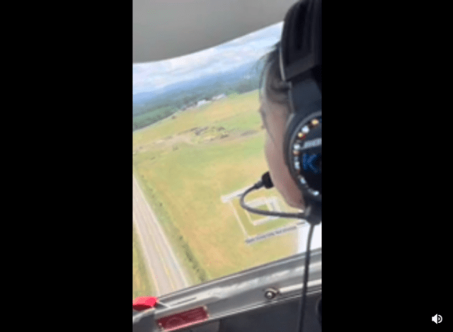 forced landing caught on tape and guess whos flying the student Airplane GEEK Forced Landing Caught on Tape And Guess Who's Flying? The Student!