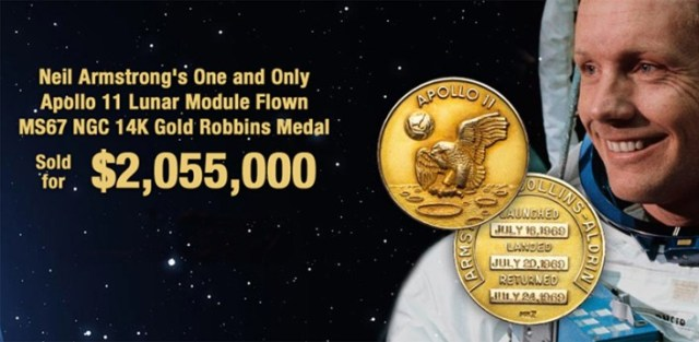 one giant sale for mankind armstrongs moon mission companions auctioned 6 Airplane GEEK One Giant Sale for Mankind: Armstrong's Moon Mission Companions Auctioned