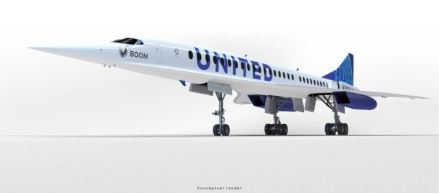 the dawn of a new supersonic era united airlines is in the lead 2 Airplane GEEK The Dawn Of A New Supersonic Era: United Airlines Is In The Lead