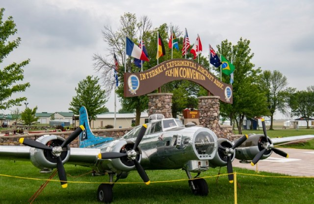 The Bally Bomber at EAA AirVenture 2021
