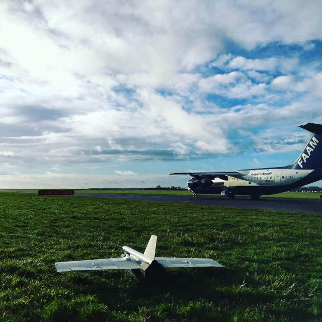 cranfield and industry partners win an award for airspace management project Airplane GEEK Cranfield and industry partners win an award for airspace management project