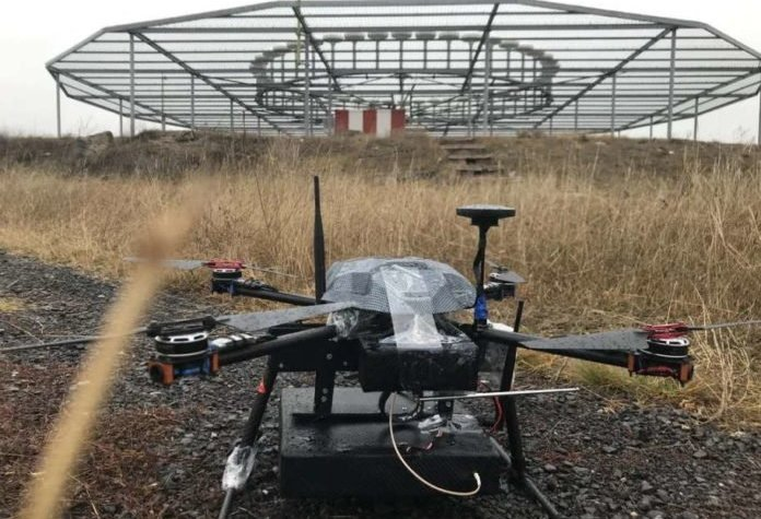 navaid calibration drone by cursir helped to speed up the flight check of the landing system of the ulyanovsk airport Airplane GEEK NAVAID Calibration Drone by Cursir helped to speed up the flight check of the landing system of the Ulyanovsk airport