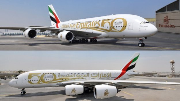 emirates celebrates uaes 50th anniversary with special liveries Airplane GEEK Emirates celebrates UAE's 50th anniversary with special liveries