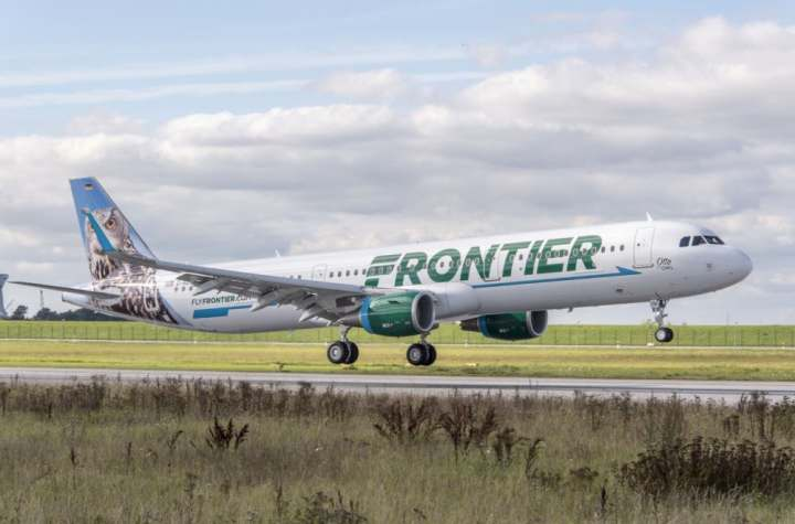 frontier airlines turns a profit and signs for 10 more airbus a321s Airplane GEEK Frontier Airlines Turns A Profit And Signs For 10 More Airbus A321s