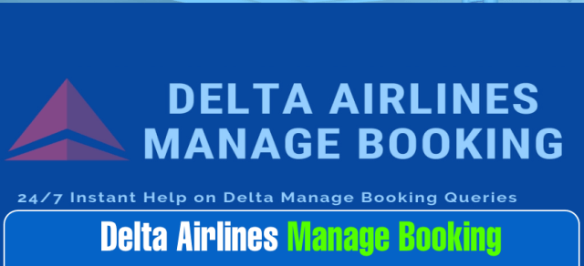 How to Book and Manage Booking with Delta Airlines