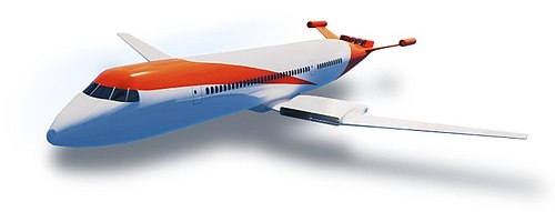 Wright electric airplane concept.