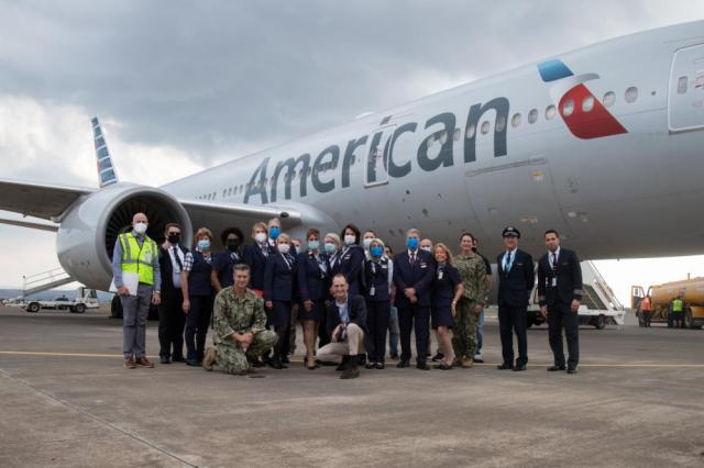 how american airlines supported operation allies refuge 2 Airplane GEEK How American Airlines Supported Operation Allies Refuge