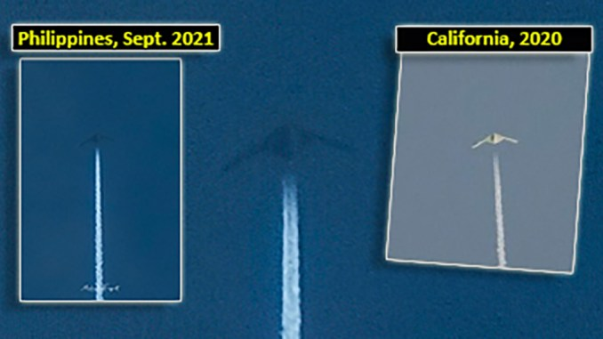 mysterious aircraft spotted over philippines strikingly similar to mystery uas photographed over california last year Airplane GEEK Mysterious Aircraft Spotted Over Philippines Strikingly Similar To Mystery UAS Photographed Over California Last Year