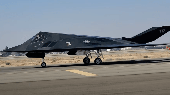 this video provides the most detailed view to the officially retired but still flying f 117s so far Airplane GEEK This Video Provides The Most Detailed View To The Officially Retired (But Still Flying) F-117s So Far